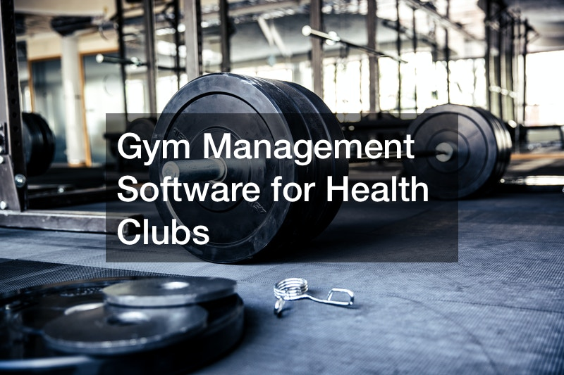 Gym Management Software for Health Clubs